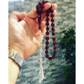 Fire Amber Rosary